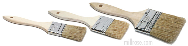 paint and varnish brushes