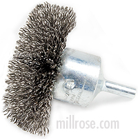 Circular Flared Wire End Brush