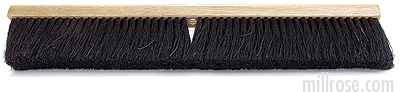 Horsehair and Plastic Mix Push Broom
